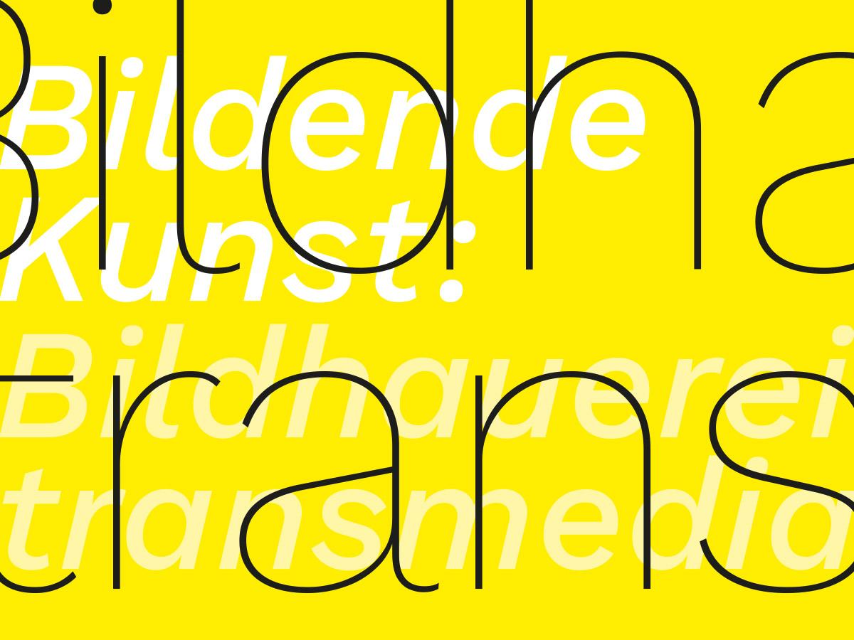 Bildhauerei - transmedialer Raum