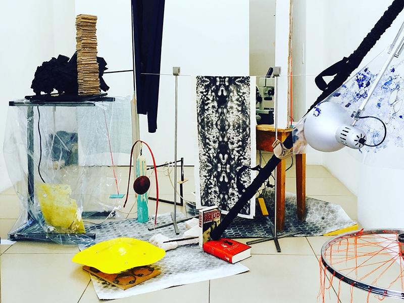 Bildhauerei - transmedialer Raum Projekte