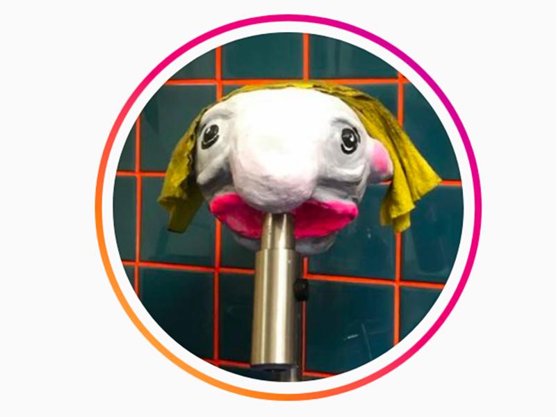 Experimentelle Gestaltung Instagram