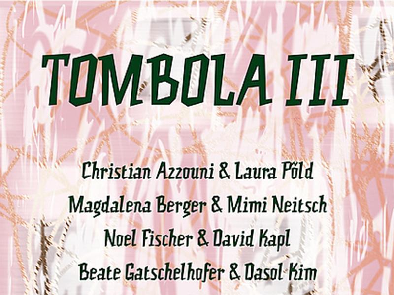 Experimentelle Gestaltung Ausstellung Tombola III