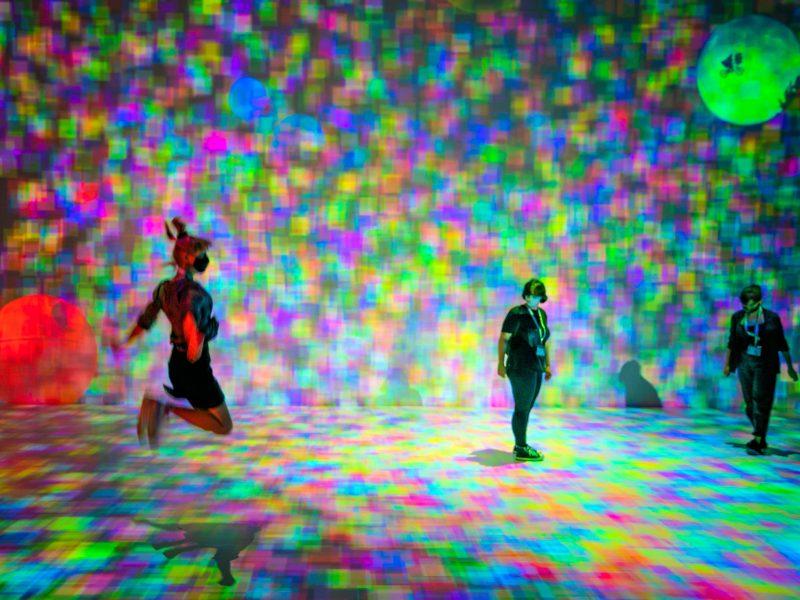 Zeitbasierte und Interaktive Medienkunst Kooperative Ästhetik im Deepspace 8K