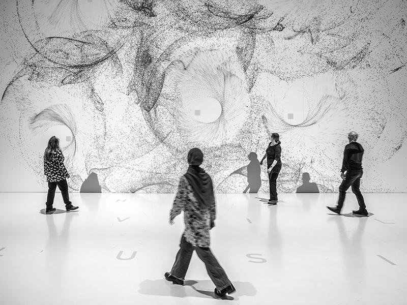 Zeitbasierte und Interaktive Medienkunst - Kooperative Äthetik